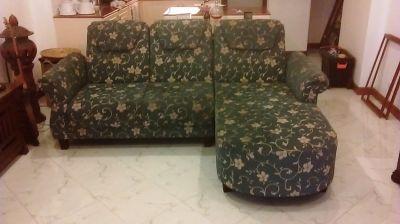 Reclining 3 seat sofa
