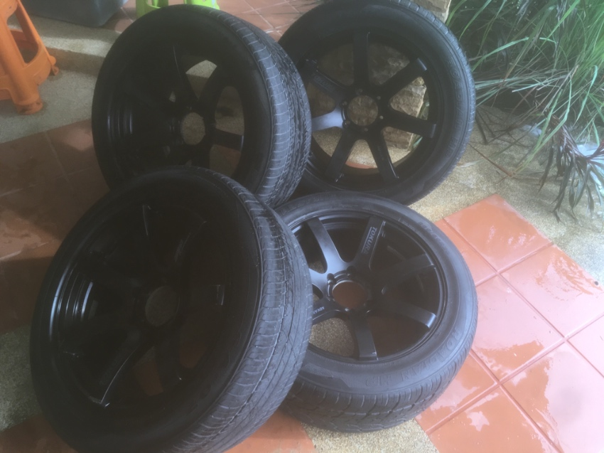 "Alloy wheels Tokura 20"" x 4"