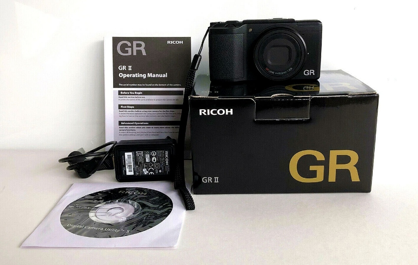 RICOH GR II Digital Camera, Mint in box | Electonics & TV | Pattaya