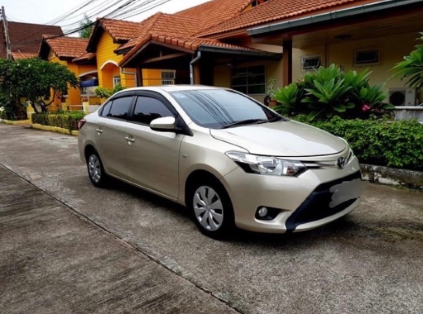 Cheap Toyota Vios 2014 For Rent Only 400 Baht / Day