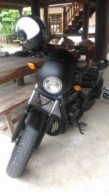 For selling, Honda Rebel 500 cc, full customised, 2 looks for 1 price