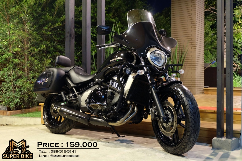 [ For Sale ] kawasaki Vulcan S 650 2015 only 9,1xx kms & side bags!