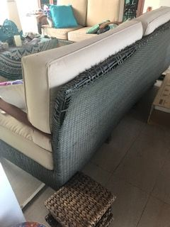 We repair or restore your old rattan furniture , it will look like new