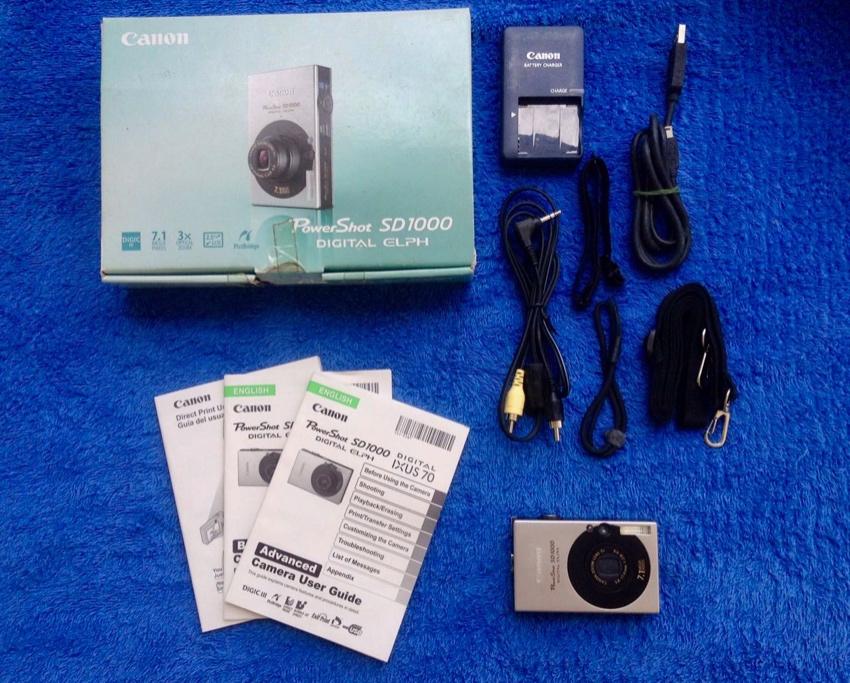Canon Compact Camera SD1000 priced reduced