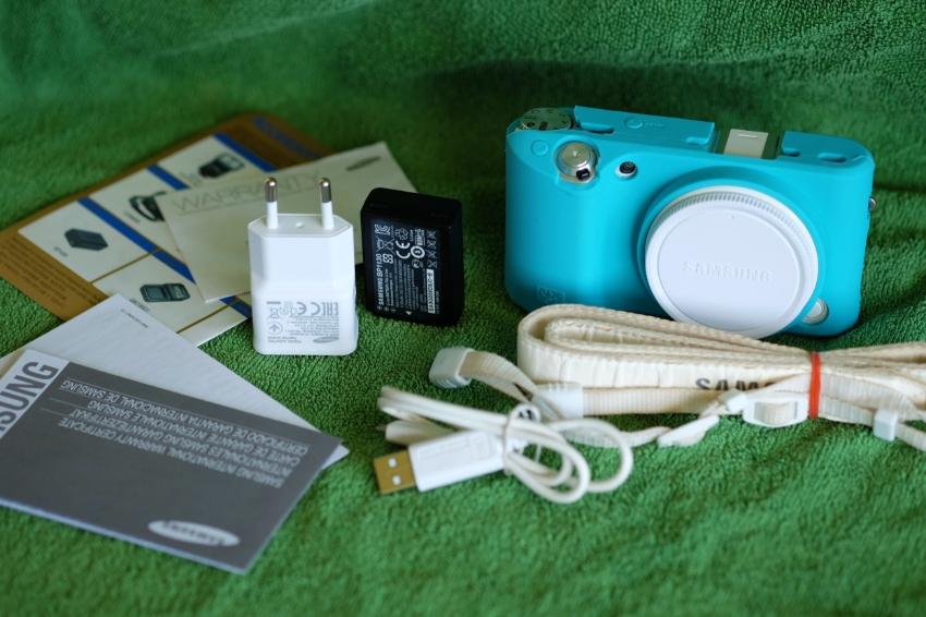 Samsung NX500 4K Video Wi-Fi BT NFC White Body