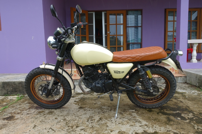 Stallion Cafe 150cc