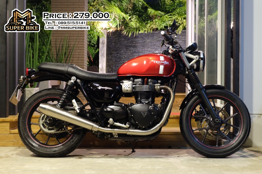 Triumph Street Twin 2017 at an excellent price!