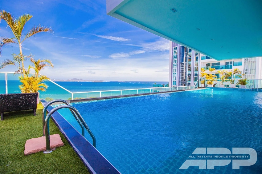For sale sea view condo at  The View Cozy Beach Residence