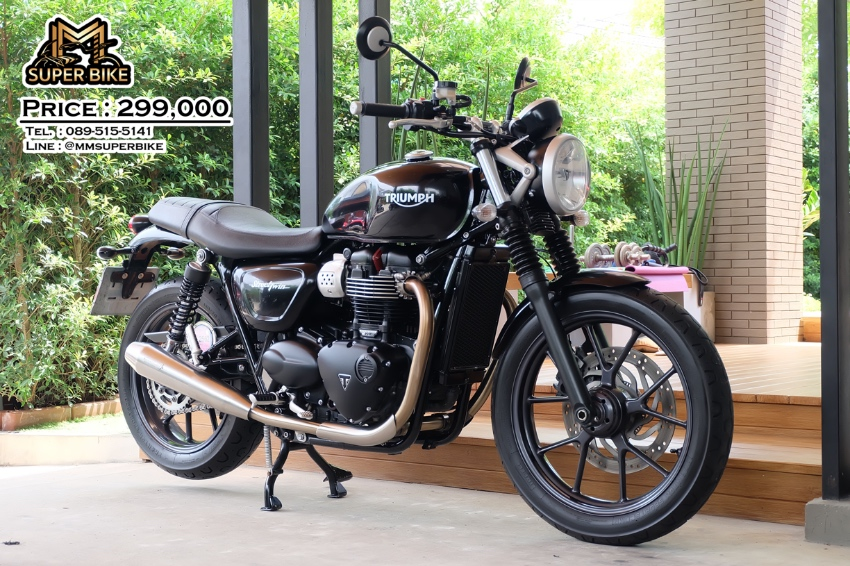 Triumph Street Twin 2016 with Vance & Hines exhaust !
