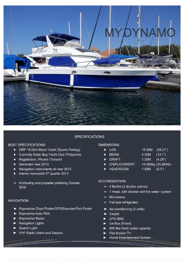 Motor Yacht 47ft