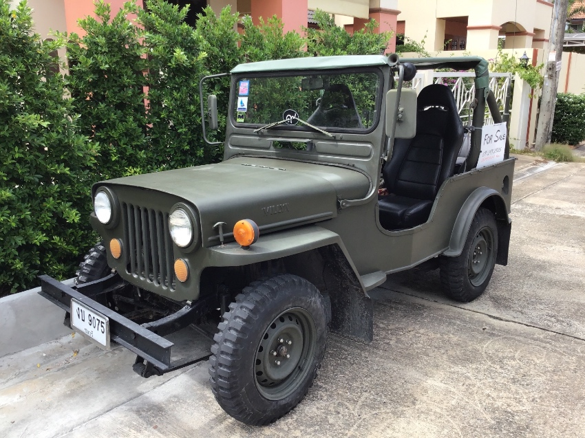 1953 Willy's American Jeep in great shape. Has Toyota engine and trans