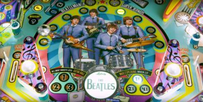 Pinball The Beatles LIMITED edition - Delivery included