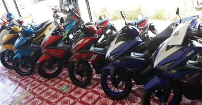 Yamaha Aerox 155 Rent 3.000 ฿ a month best service