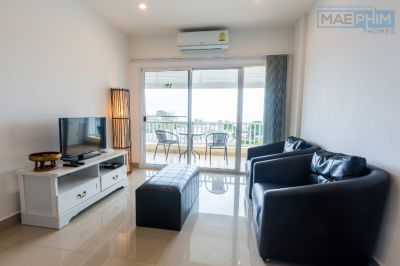 Sea view 2-bedroom apartment for sale in Laem Mae Phim