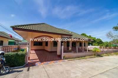 (HS253-03) Cute Single Storey Home for Sale in Doi Saket