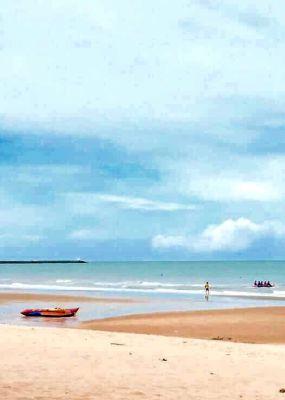 Cha am beachfront house views to beach