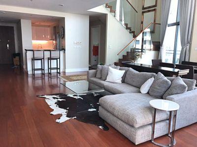 For Rent !! BRIGHT Sukhumvit 24, Duplex 3 bed, BTS Phrompong