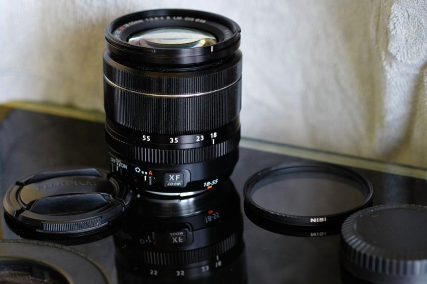 Fuji Fujinon XF 18-55mm f/2.8-4 OIS LM R Lens