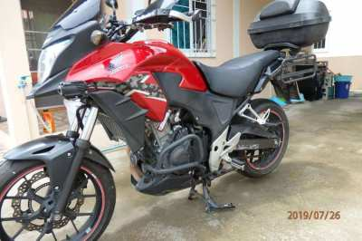 Honda CB500X fully loaded