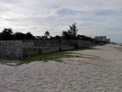 Hua Hin North 1-1-47 Rai Absolute Beachfront Plot