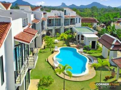 #1071  3Bedroom At Sunrise Villa Resort For Rent @Huay Yai