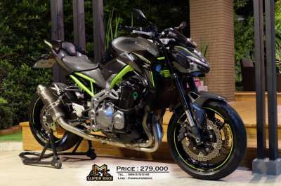 Kawasaki Z900 2017 with MIVV exhaust! Excellent condition!