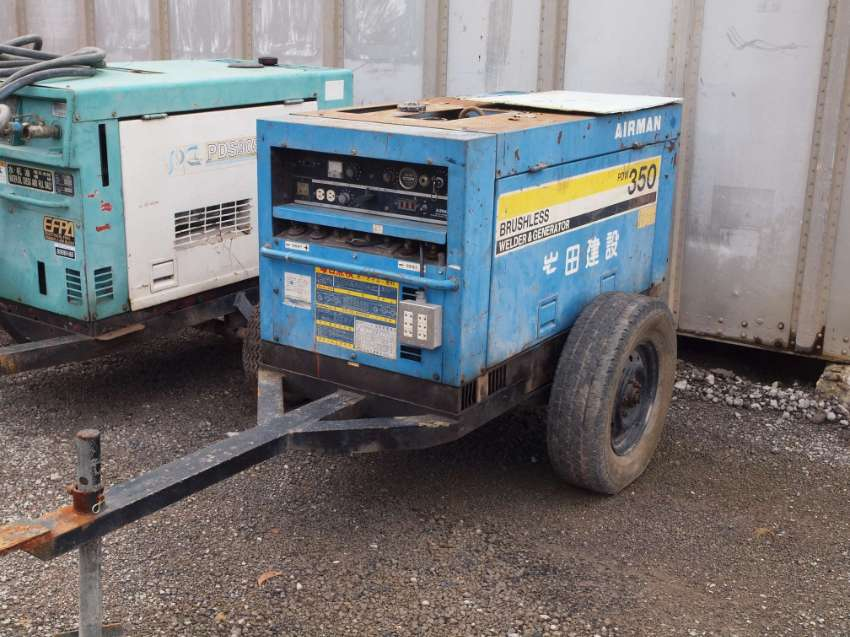 REDUCED -  Airman PDW-350amp Diesel Welding Generator