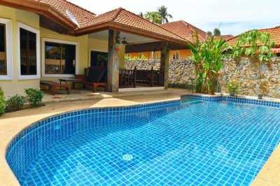 Beautiful 3 Bedroom Private Pool Villa For Sale in Nong Pla Lai area.
