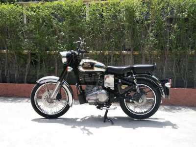 Royal Enfield Classic 500 Chrome, 1st hand, 3 years old, 16.700 km
