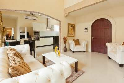 Pool Villa reduced for quick sale in an exclusive gated community.