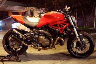 [ For Sale ] Ducati Monster 821 2016 with others accessories.