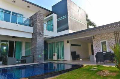 Modern Private Pool House For Sale at Mapbrachan Lake!!