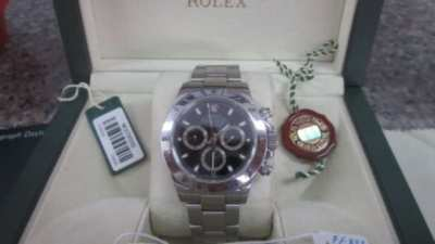 "Genuine Rolex Daytona 116520, Safe condition "" new """