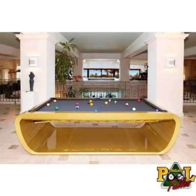 BlackLight Design Pool Table