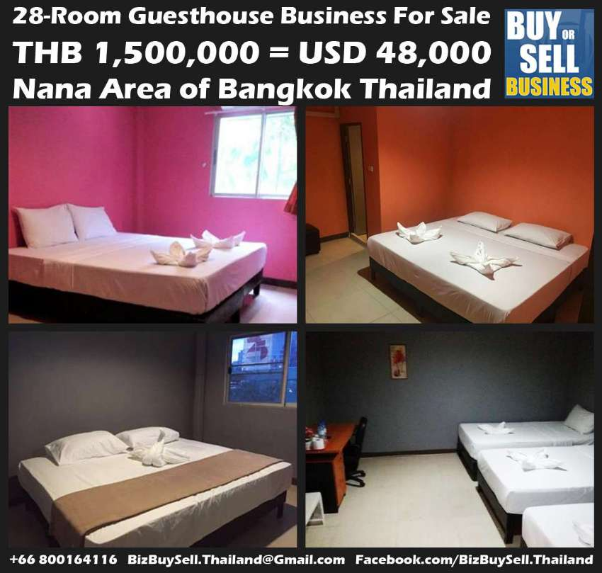 28-Rooms Guesthouse Business in Nana Area