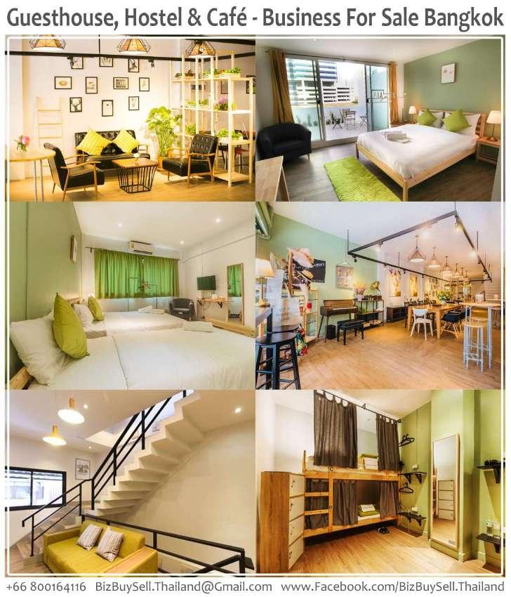 Guesthouse, Hostel & Café Business For Sale