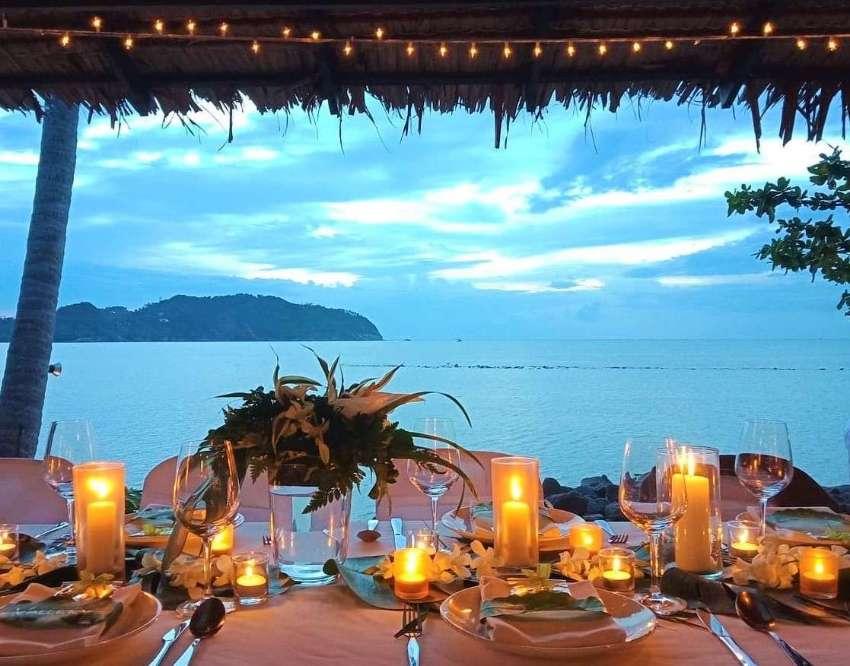 Unique Beachfront Restaurant | Koh Phangan, Thailand - Fine Dining