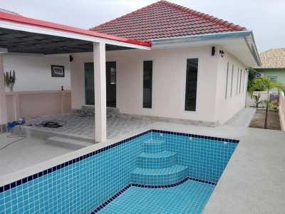 New 2 BR 2 Bath Pool Villa Near Cha-am Town Center