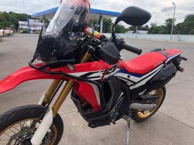 Honda CRF250 Rally 5,484km only $135,000 baht 2017