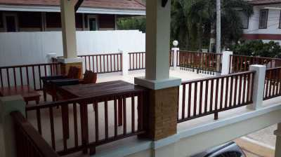 Spacious secure house with pool at Beverly Hills village Hua Hin