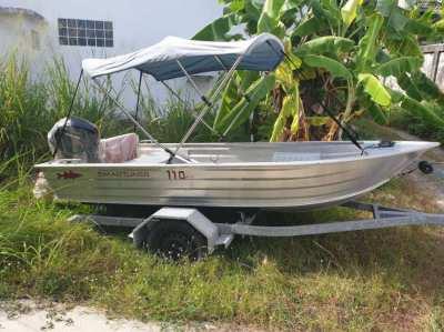 Samrtliner 110 Alu boat