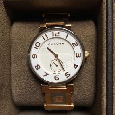 SALE..Luxury Swiss watch Carven limited edition - Not used