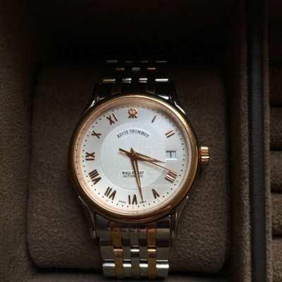 SALE ...Luxury Swiss watch Revue Tommen Wall street - not used