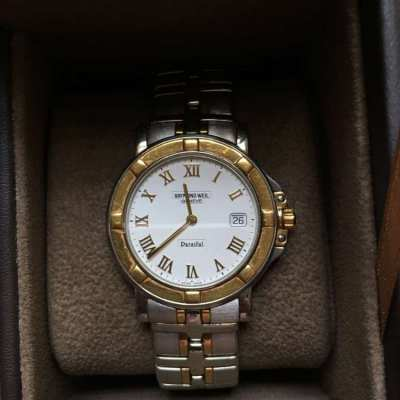 Luxury Swiss Watch SALE - Raymond Weil Parsifal with 18 k gold