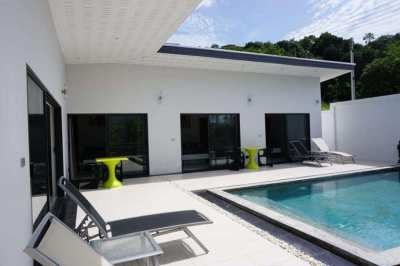 For rent 4 bedrooms pool villa Plai Laem Koh Samui
