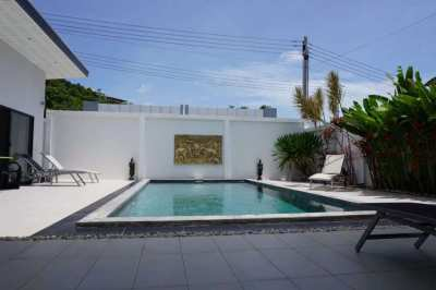 For rent 4 bedrooms pool villa Plai Laem Koh Samui