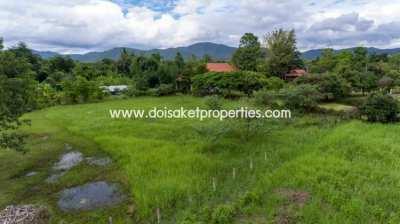 (LS314-01) Nice 1 Rai Plot of Land for Sale in Doi Saket.