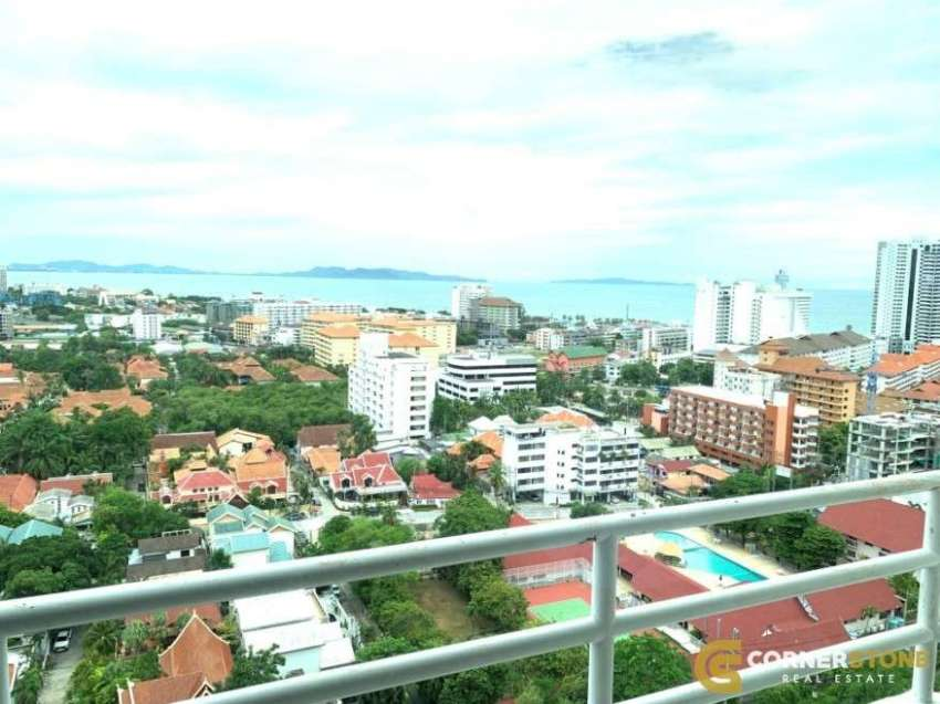 #CR1140  A Beautiful Sea View Condo for Rent @ Jomtien
