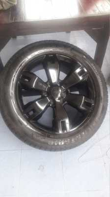Ford ranger wheels and tyres