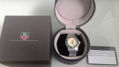Genuine Tag Heuer 1500 Series 929.113G Midsize Watch Full Lume Rare
